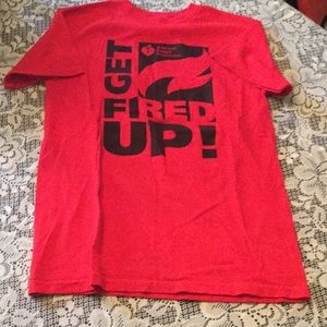 Get Fired Up Size S Unisex Tee